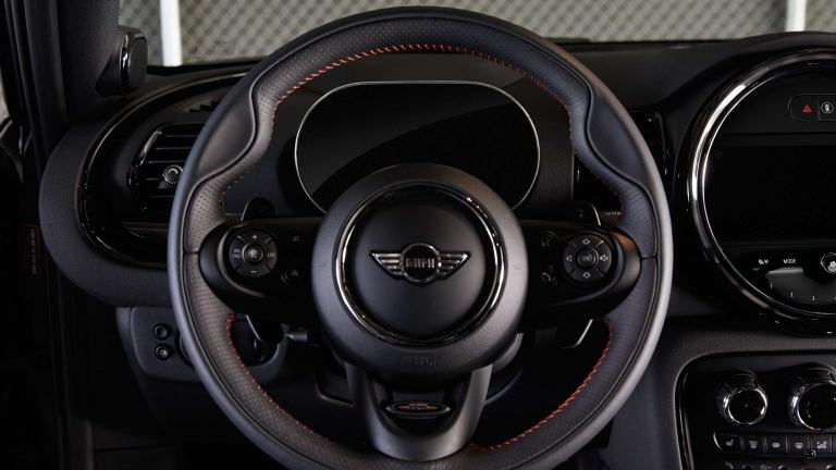 MINI John Cooper Works – Lederlenkrad – Cockpit